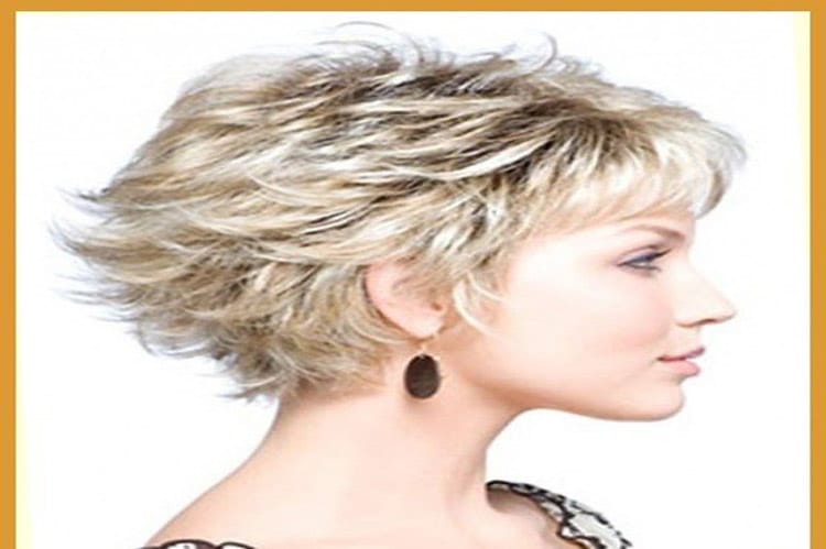 messy wedge hairstyle