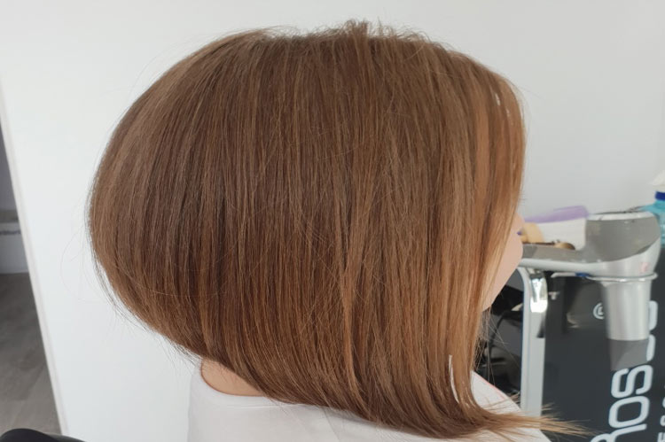 perfect haircut with elegant wedge designs