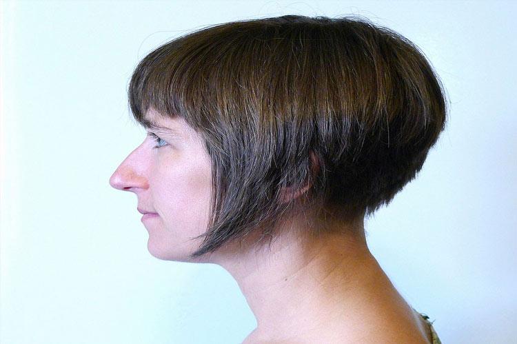 razored wedge haircut