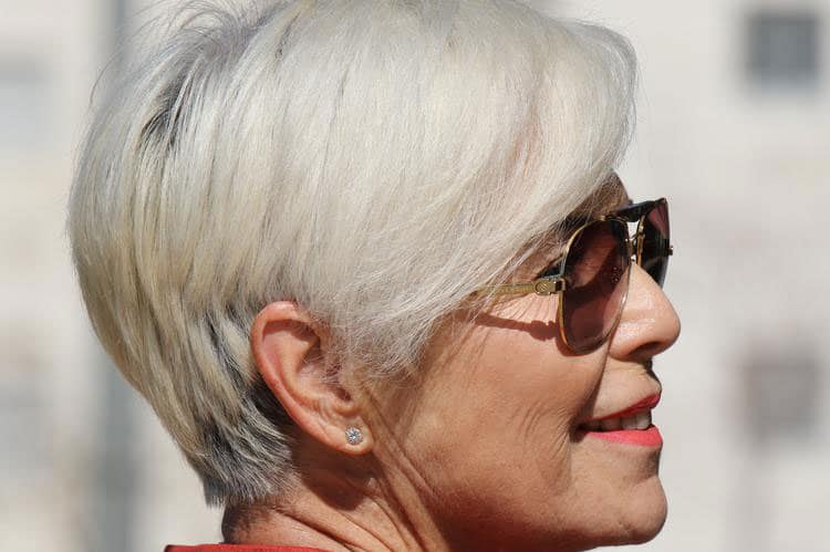 wedge haircut for over 50s