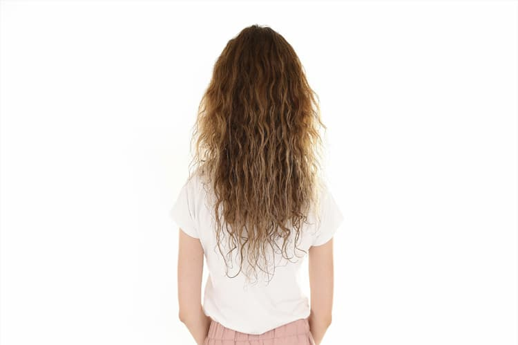 long haircut with suitable layers