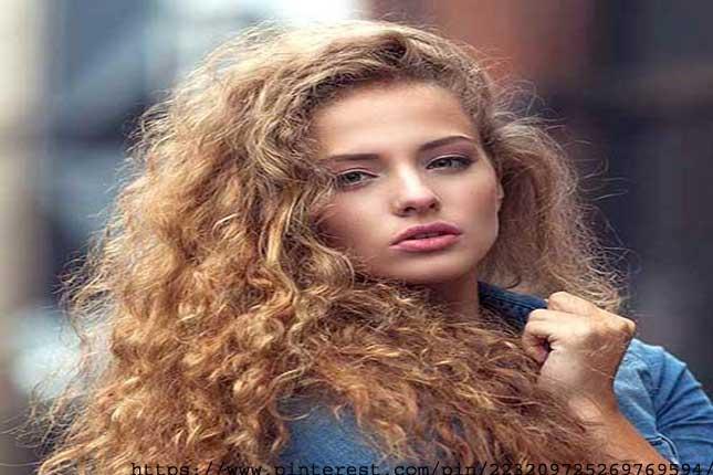 Bushy Perm - types of hair perms