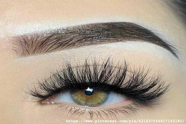 Lash for round eyes
