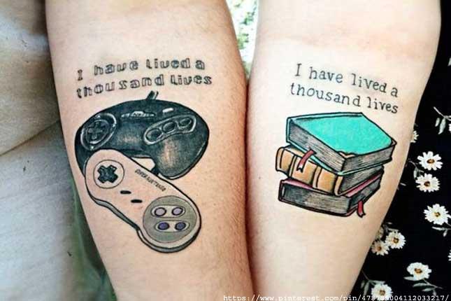 Nerdy tattoos