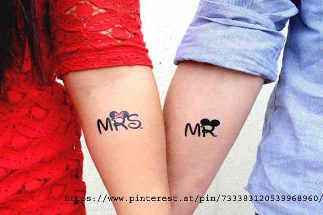 Newlywed's Tattoos