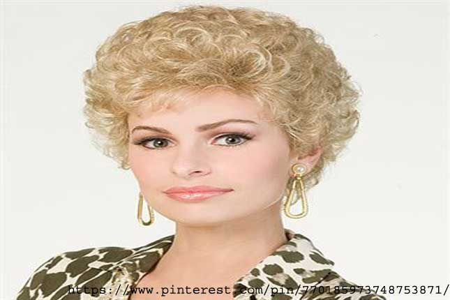 Permed Pixie - types of hair perms
