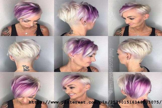 Platinum & Purple Perfection