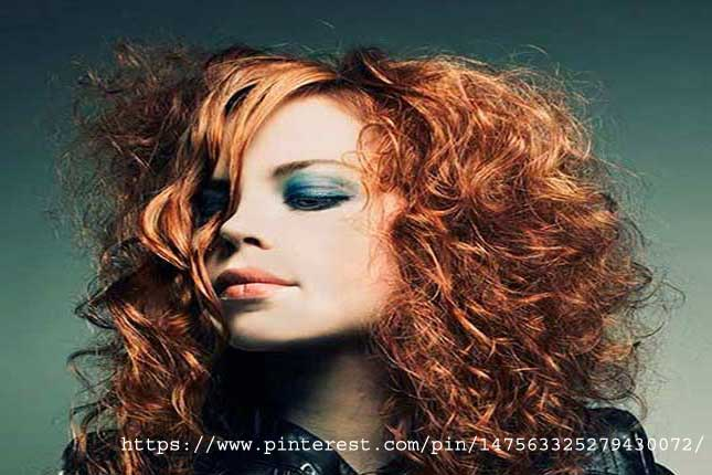 Rough-Partial-Perm - types of hair perms