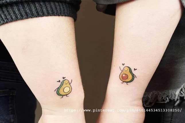 Tiny avocados