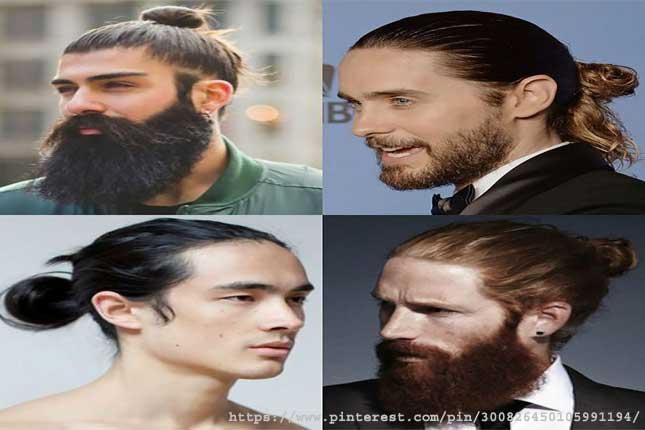 Man Bun- long hairstyles for men
