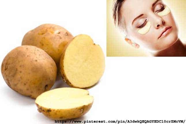 Potato Juice- dark eyelids