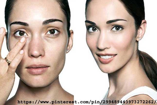 apply corrector your Dark eyelids utilizing Makeup