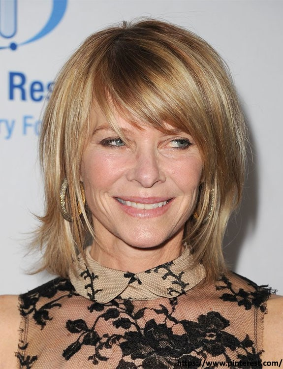 Bob With Side Bangs - hairstyles for women over 50