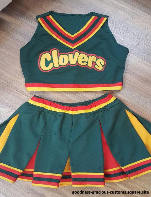 Clovers Cheerleader