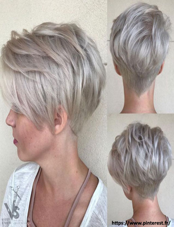 Feathery Layers With Nape Undercut