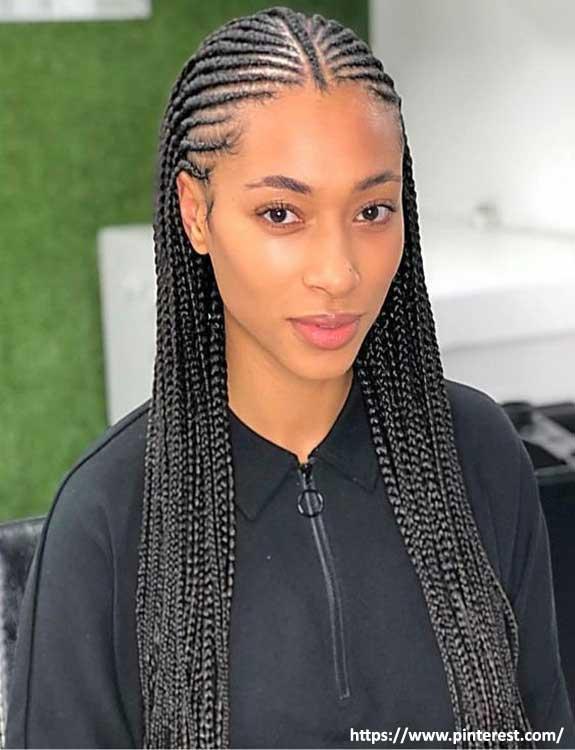Fulani Hairstyle Braids - black braided hairstyles
