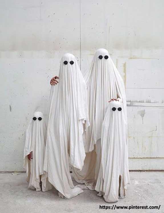 Ghost - college halloween Costumes