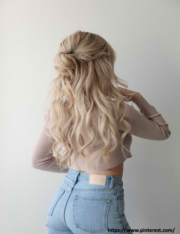 Half-Up-Topkno - Easy Hairstyles for School