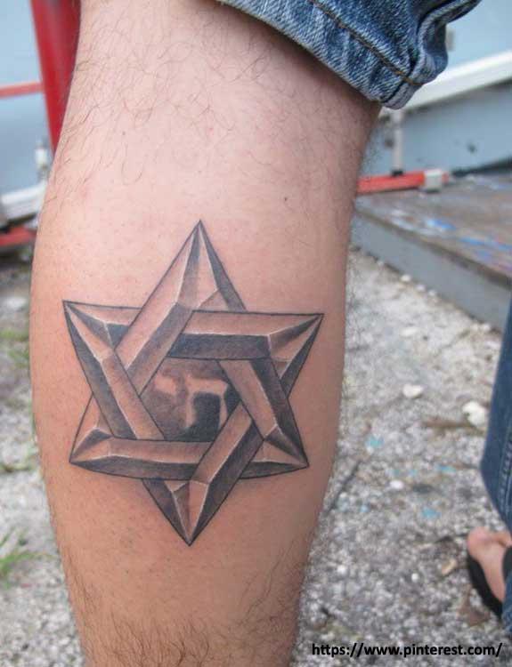 Hexagram Star Tattoo