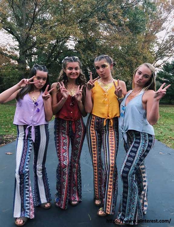 Hippie - college halloween Costumes