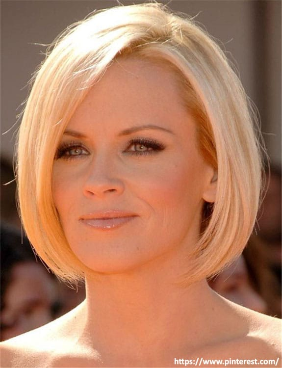 Length Chin Bob- hairstyles for women over 50