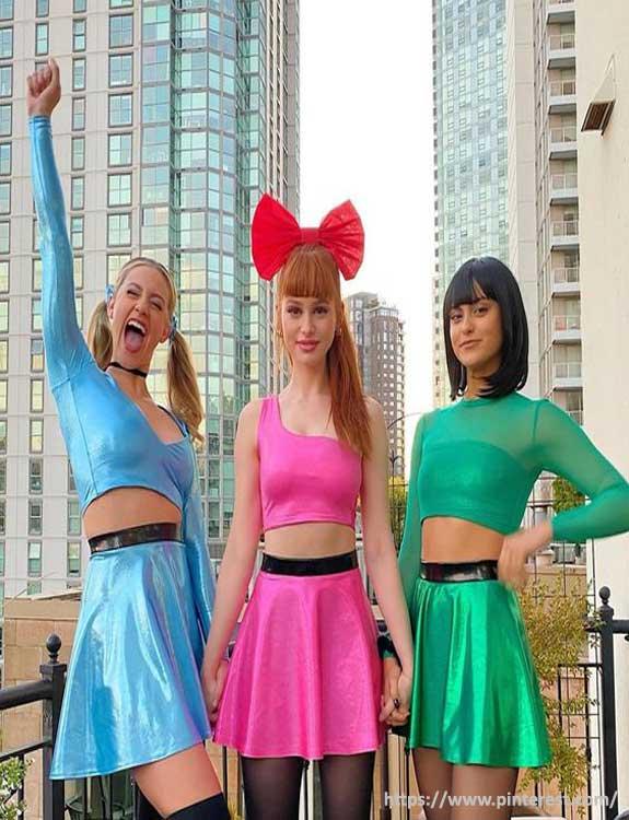 Powerpuff Girls - college halloween Costumes