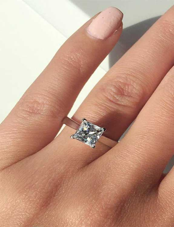 Princess-Cut types of rings