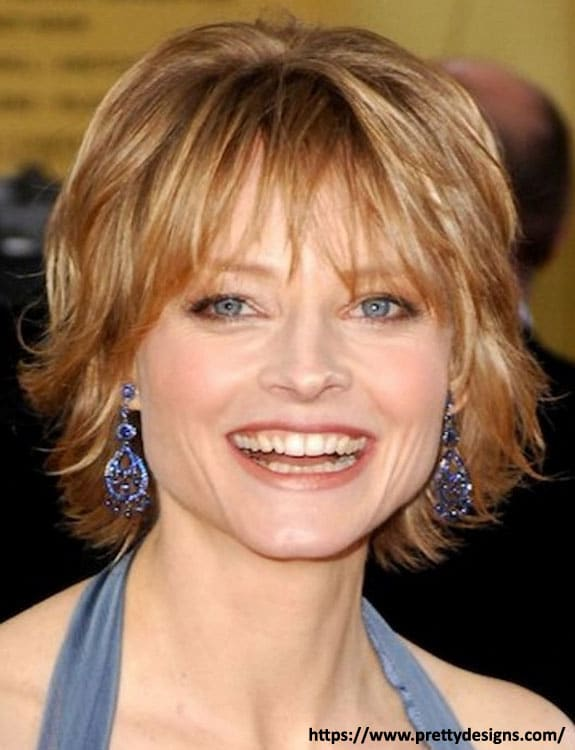 Shaggy Cut - hairstyles for women over 50