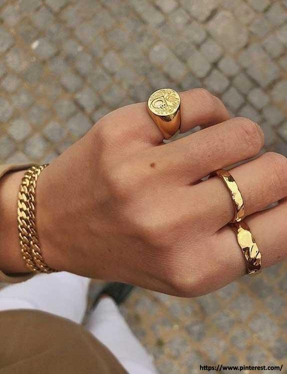 Signet Ring types of rings