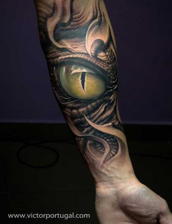 Snake Eye Tattoo