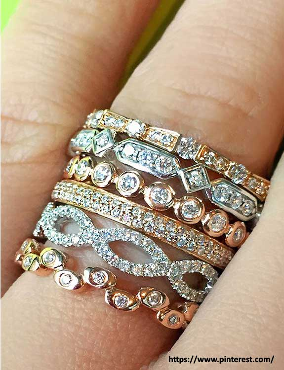 Stack-Ringss types of rings