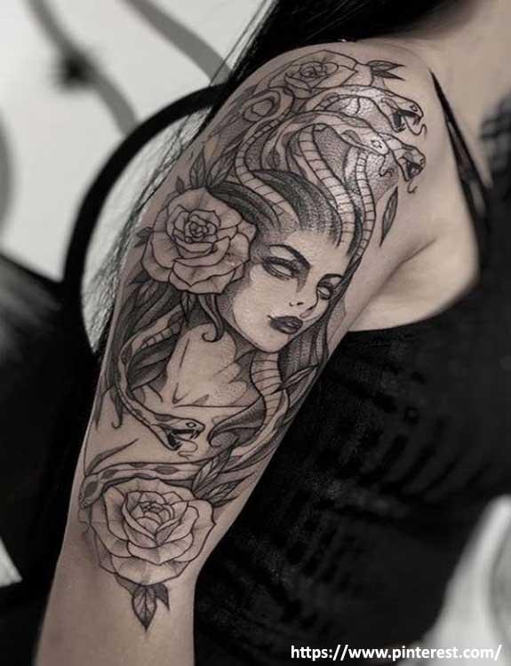 The Medusa Snake Tattoo