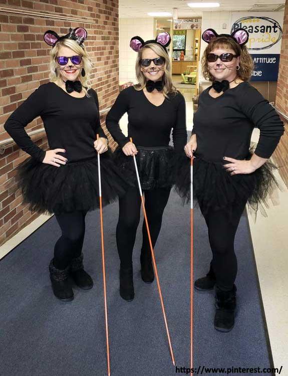 Three Blind Mice - college halloween Costumes