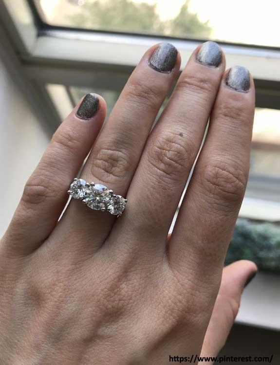 Three Stone types of rings