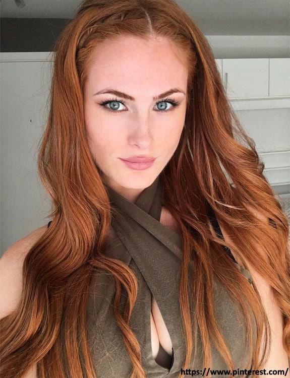Auburn Hair Color- hair-color-for-green-eyes