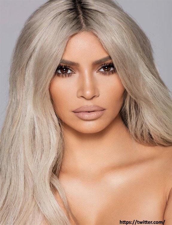 Beige Blond Hair hair color for brown skin