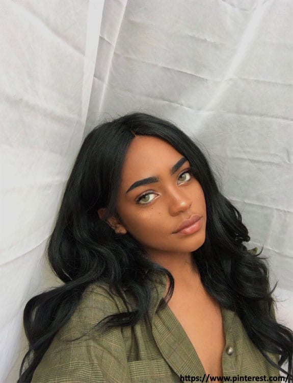 Black Hair With Green Eyes- hair-color-for-green-eyes