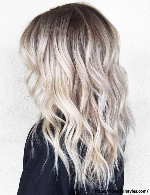 Blonde Ombre Hair Colour Style