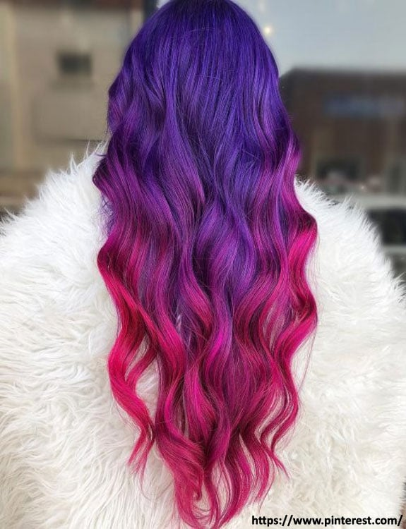 Bright Pink Hair Color hair color for brown skin