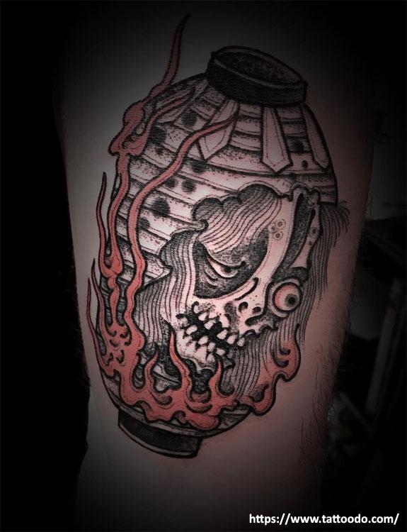 Chochin-obake Tattoo