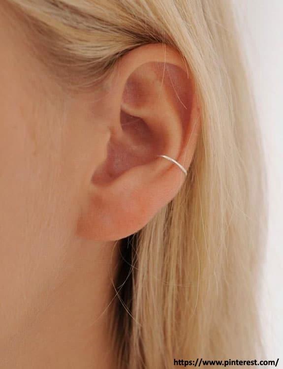Conch Piercing - ear piercing types