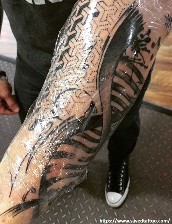 Cover the Tattoo Up tattoo aftercare tips