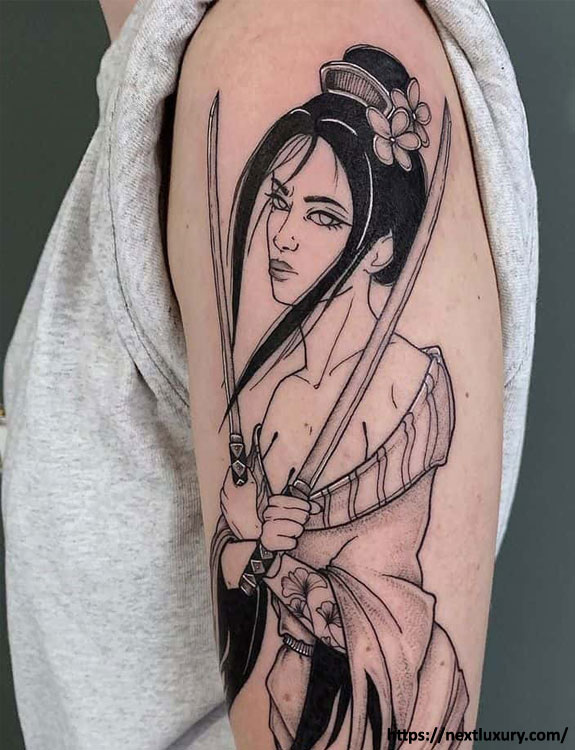 Geisha (Japanese Women) Tattoo