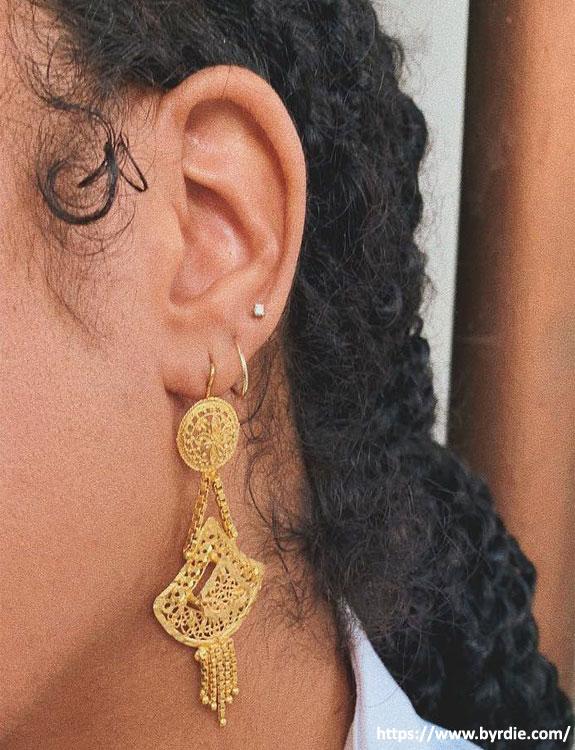 High-Lobe Piercing
