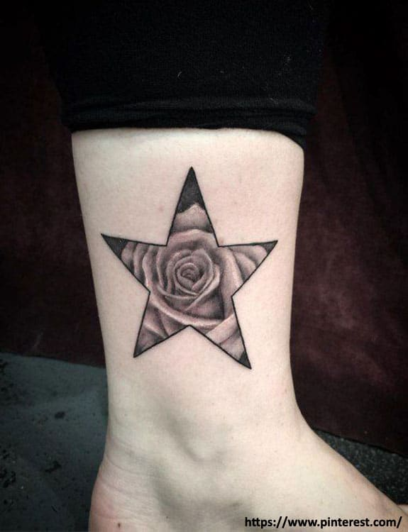 Inside-Out Star Tattoo