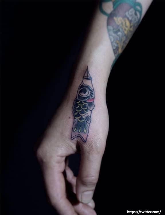 Koinobori Tattoo