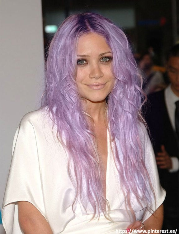 Light Purple Hair Color hair color for brown skin