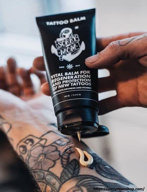 Limit The Use Of Tattoo Creams Or Lotions tattoo aftercare tips