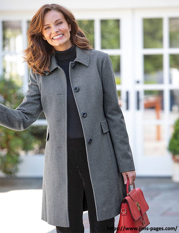 Long Coat- what-to-wear-in-50-degree-weather