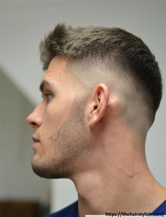 Mid Taper Fade- Types of Fades